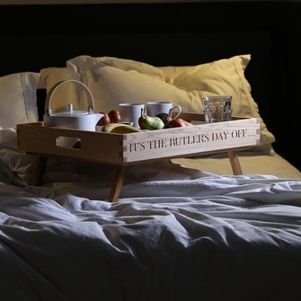 Breakfast in Bed Tray with stand